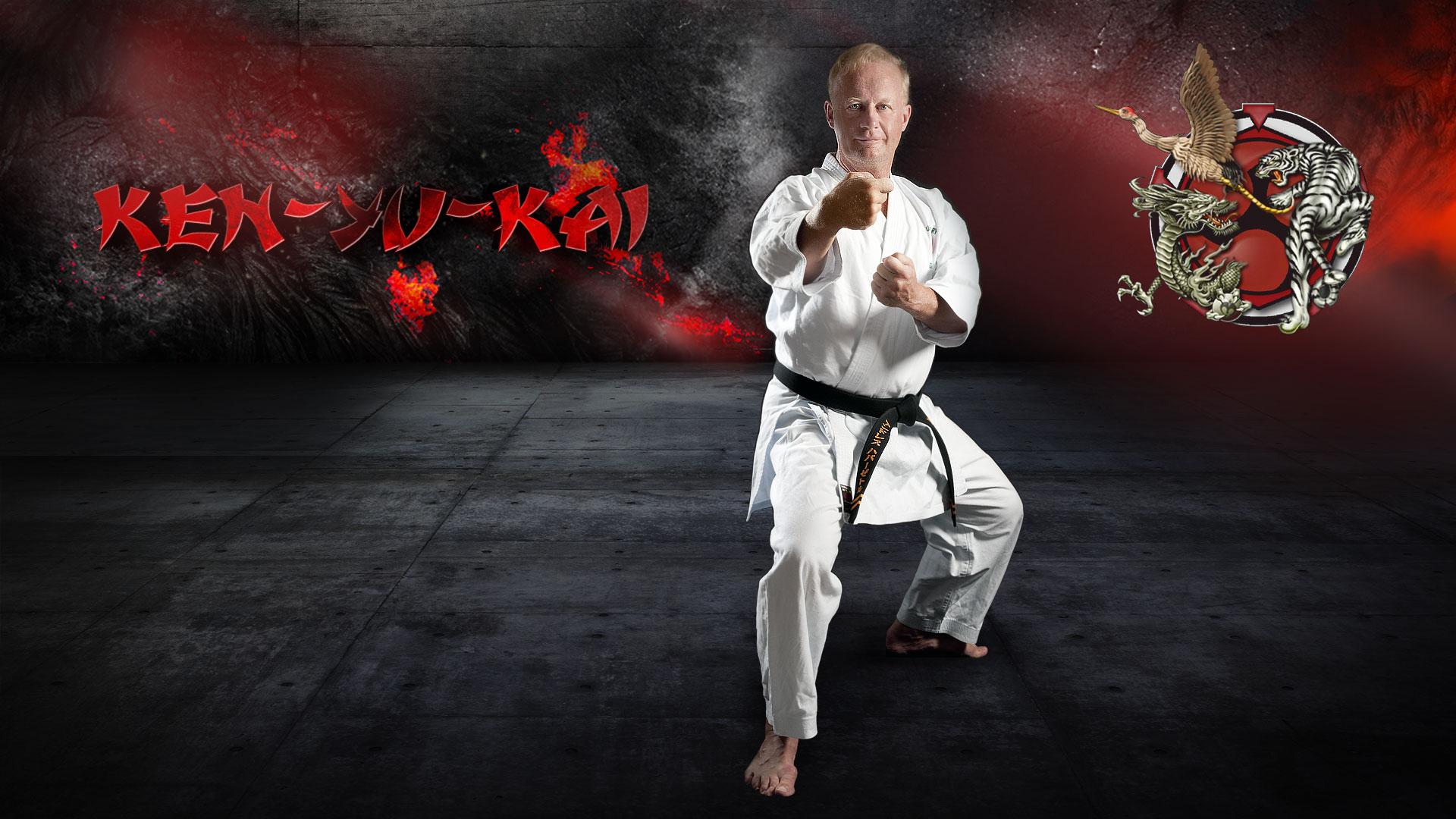 Geh zum Karate